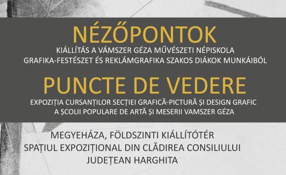 NÉZŐPONTOK – Népiskolás diákok kiállítása